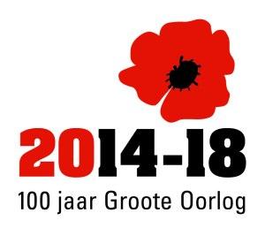 logo 100 jaar WOI nederlands